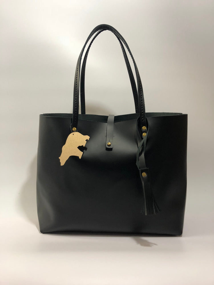 Sophia Luxe Tote | Bear Cub Leather