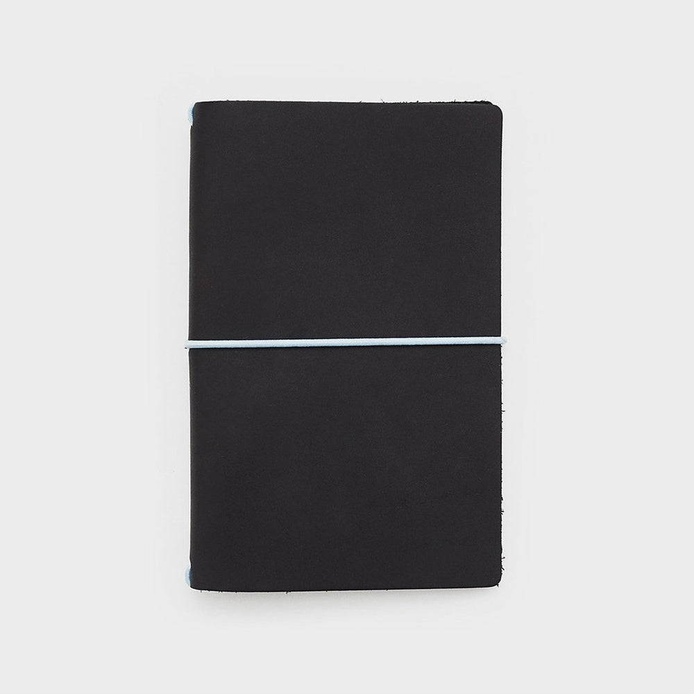 Leather Jacket | Black/Blue | Word. Notebooks