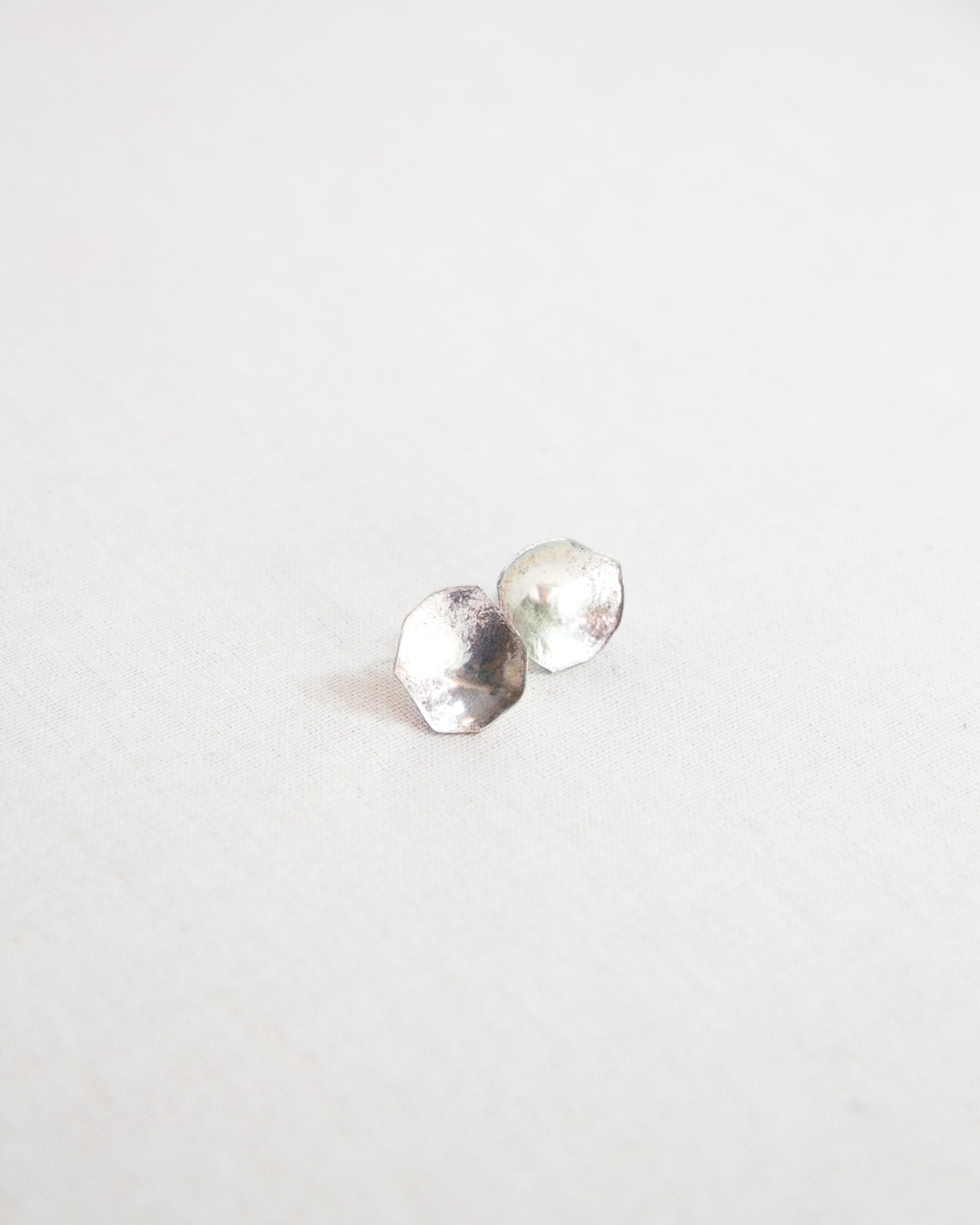 Rhiannon Stud Earrings in Sterling Silver