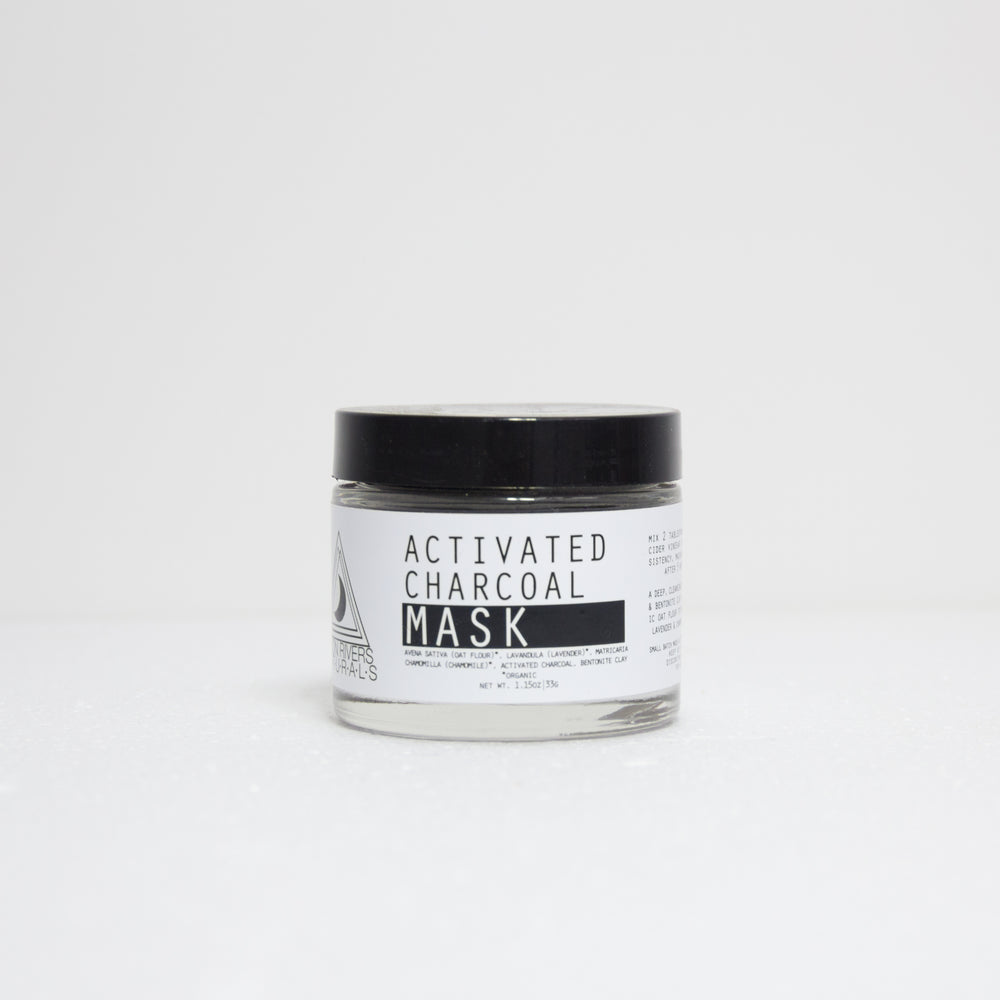 Activated Charcoal Mask | Moon Rivers Naturals