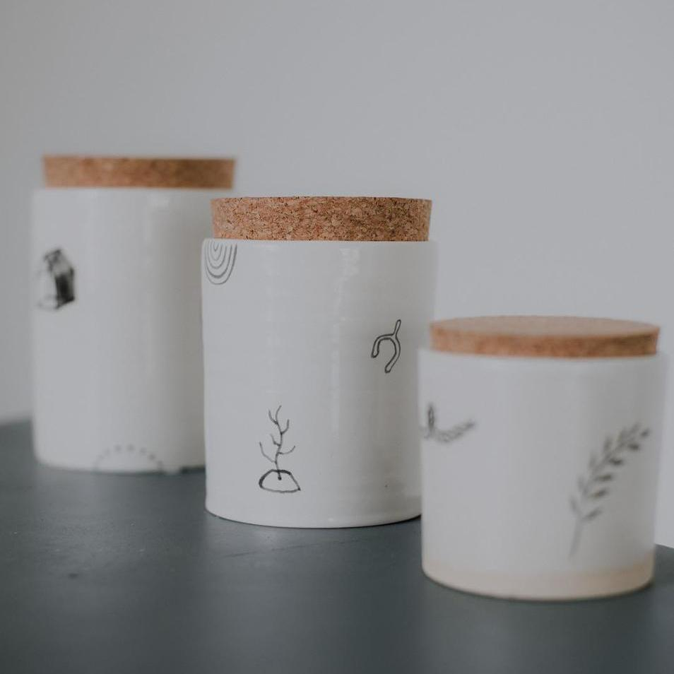 Corked Tumbler | Long Lost Ceramics