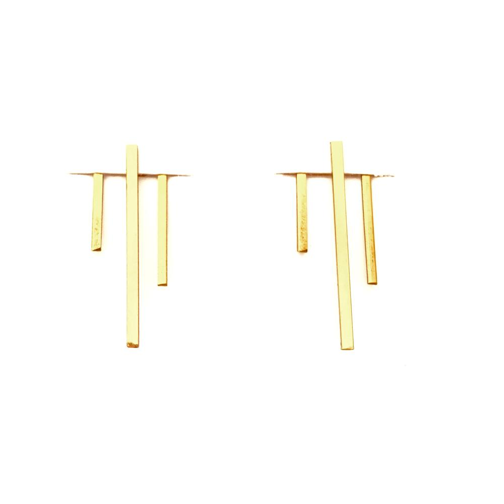 Rain Jacket Earrings | Rebekah Vinyard Jewelry