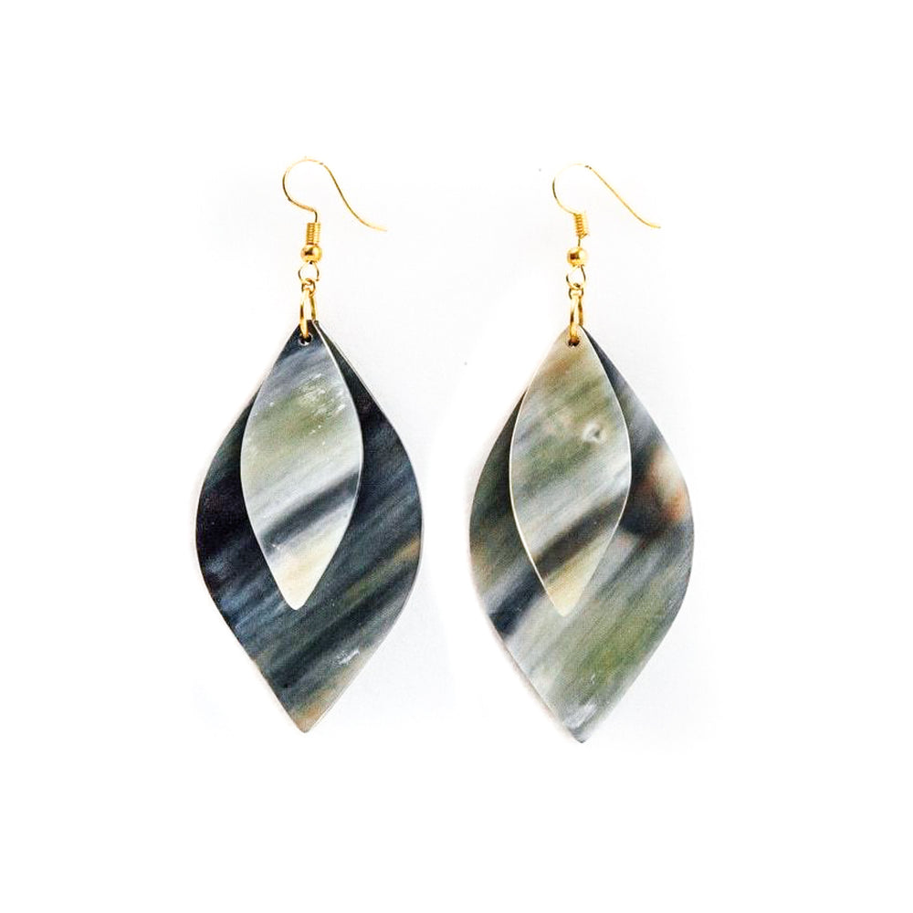Ankole Horn Stacked Earring | tribe + glory