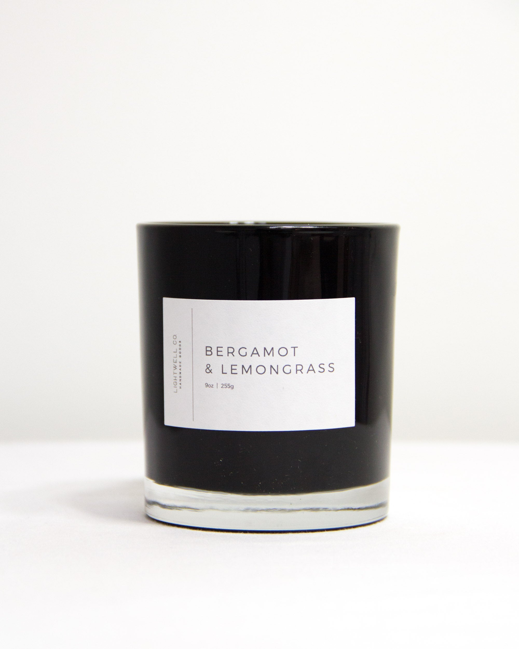 Black Tumbler Candle | Bergamot & Lemongrass | Lightwell Co.-Apothecary-Lightwell Co.-Forth and Nomad