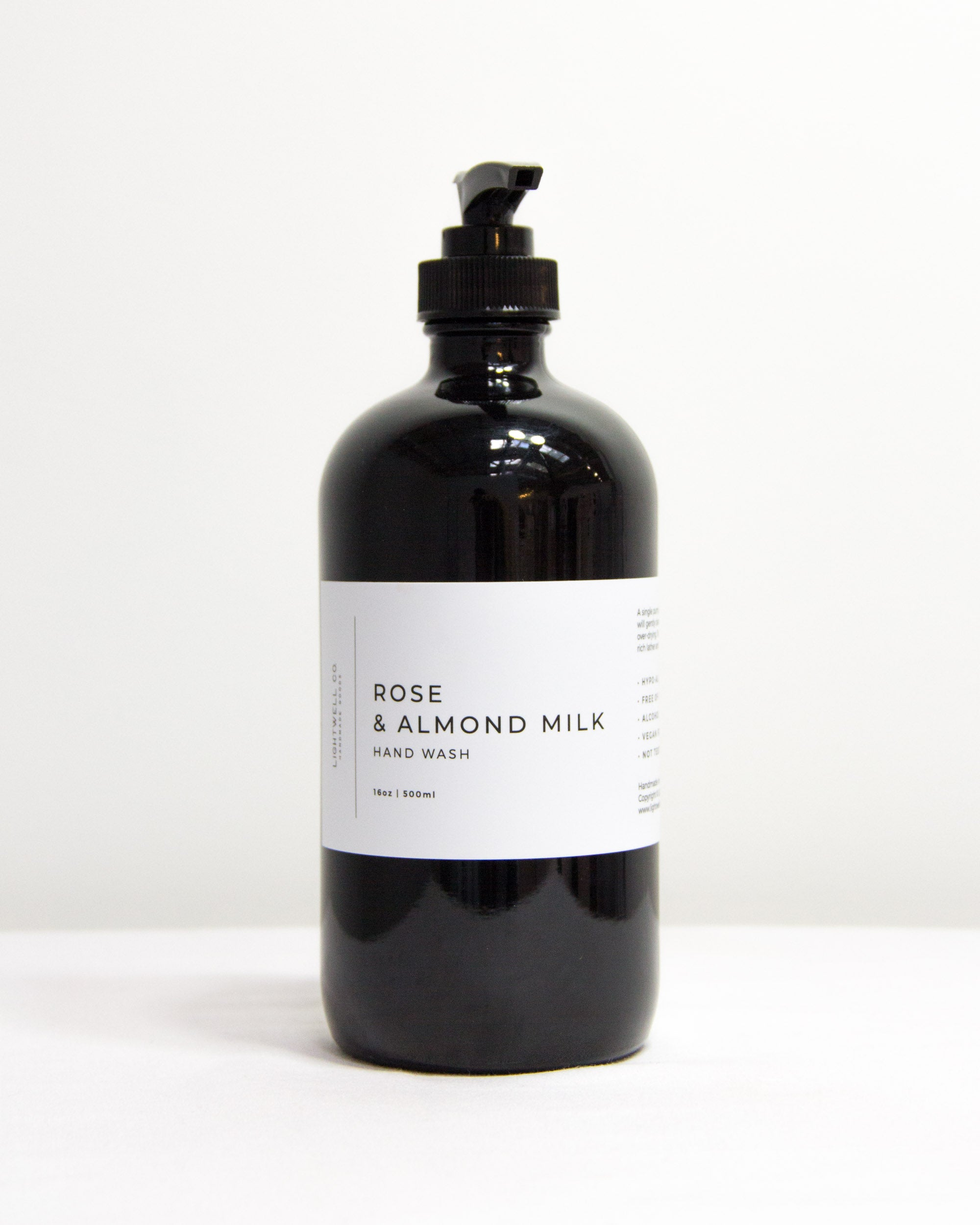 Hand Wash | Rose & Almond | Lightwell Co.-Apothecary-Lightwell Co.-Forth and Nomad