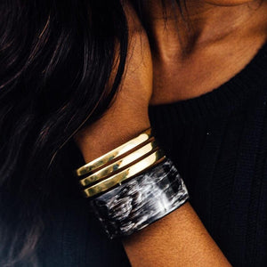 Cut Out Accent Cuff | tribe + glory