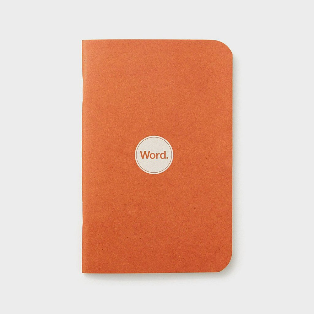 Notebooks | Orange | Word. Notebooks