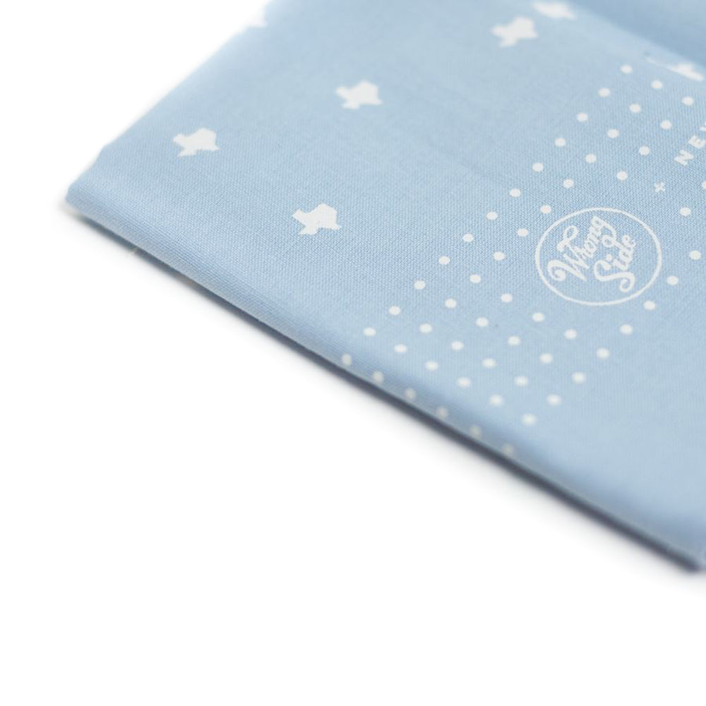 Texas Bandana | Light Blue | WrongSide