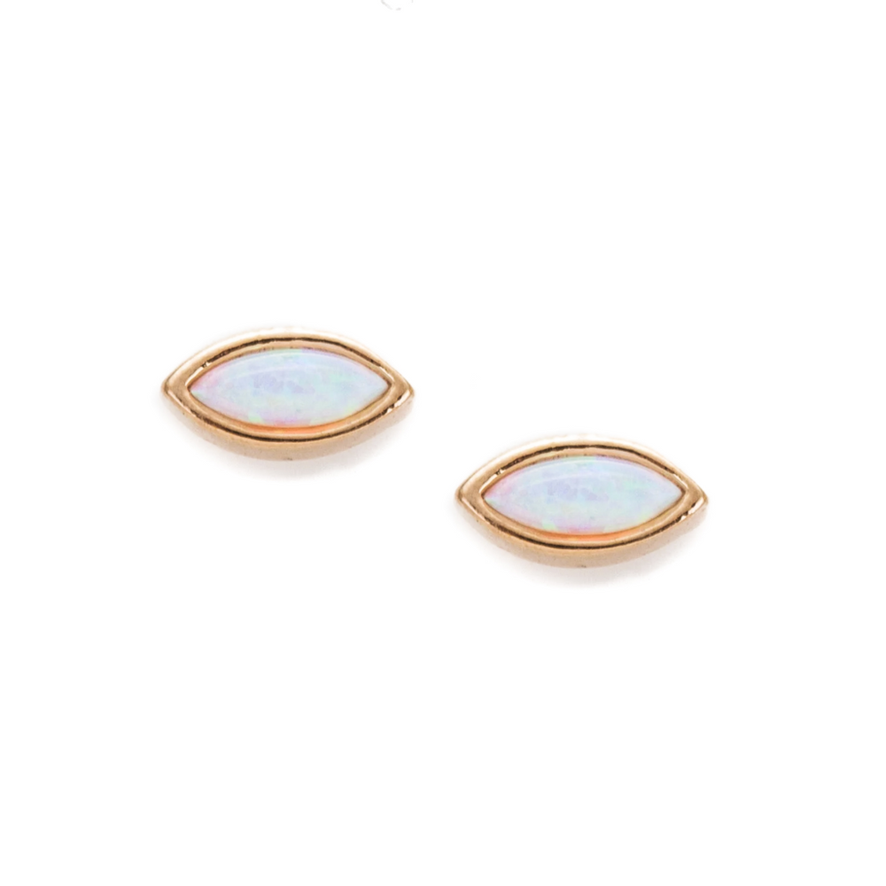 Isla Opal Stud Earrings | Mod & Jo