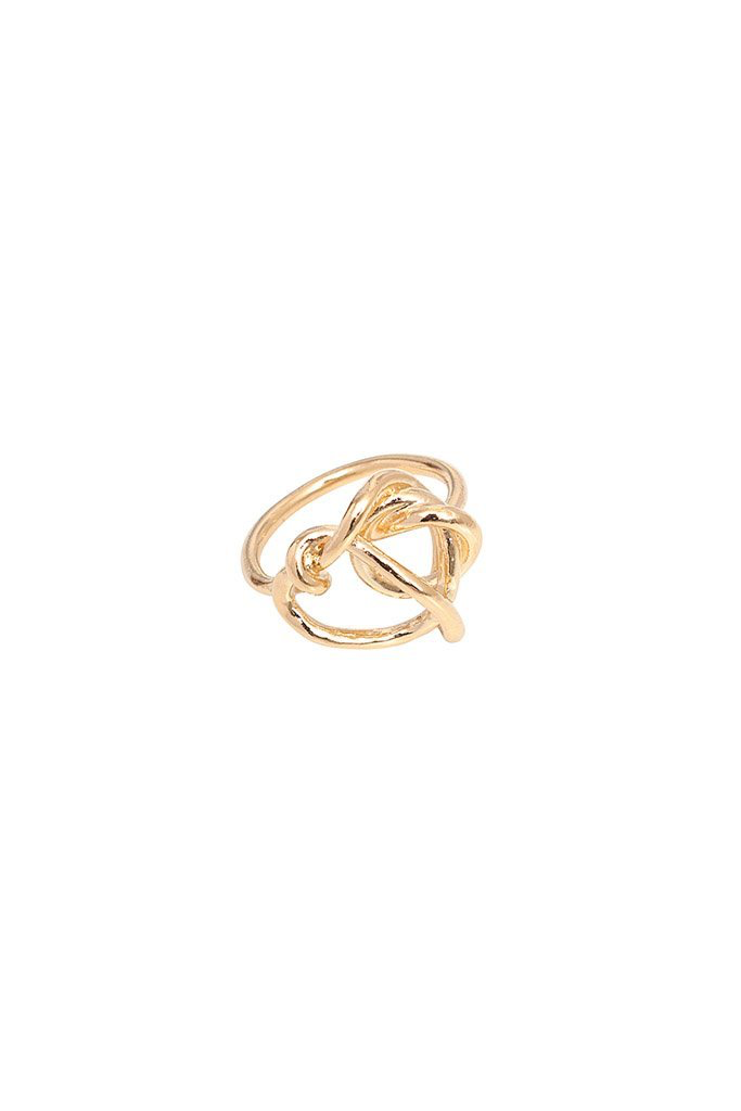 Imperfect Knot Ring