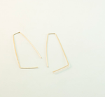 Geo Ear Hook Earrings | Mckinley Mizar Jewelry