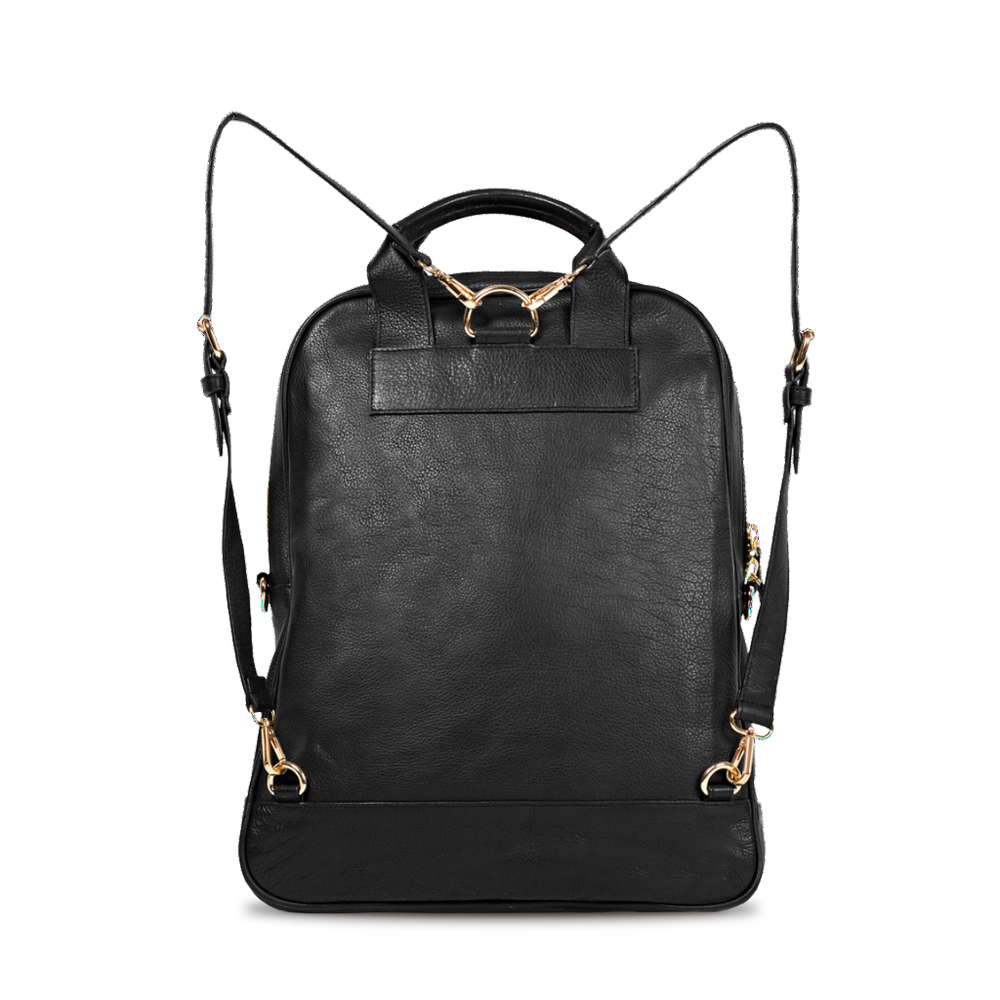C12 Black Leather | Bartaile