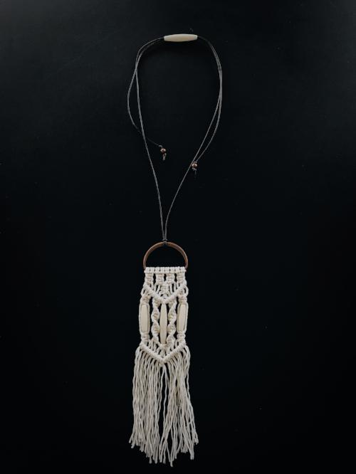 Macramé Necklace | Bespoke HTX