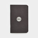 Notebooks | Black Dot Grid | Word. Notebooks