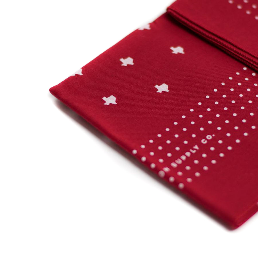Texas Bandana | Red | WrongSide