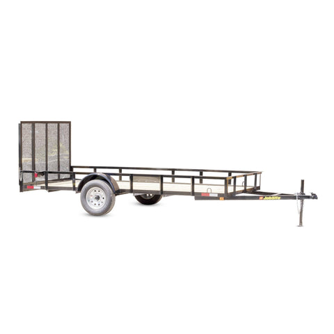 3500 LB. GVWR SINGLE AXLE COMMERCIAL DUTY UTILITY TRAILER