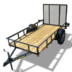 "2990 GVWR SINGLE AXLE RESIDENTIAL DUTY UTILITY TRAILER - 60"" x 10'"