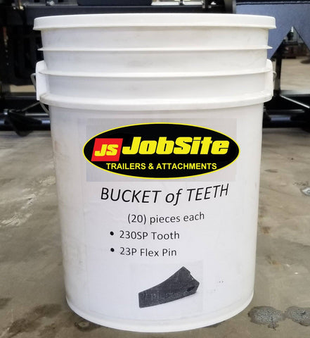 Bucket of Teeth