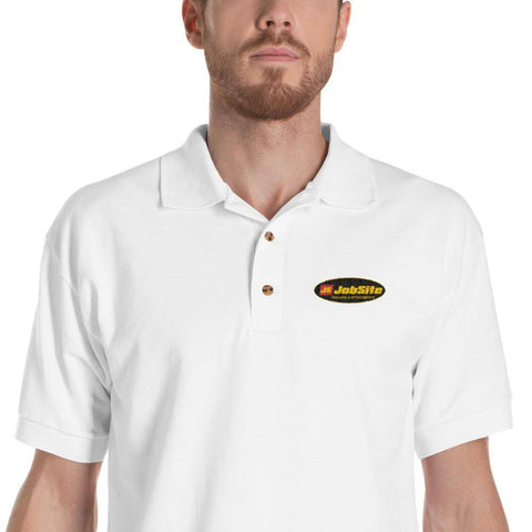 JobSite Embroidered Polo Shirt