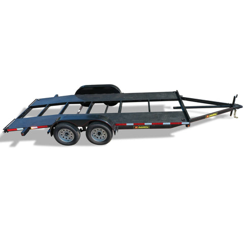 "7000 GVWR RESIDENTIAL DUTY CAR HAULER - 82"" x 16'"