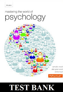 Mastering the world of psychology 5th edition test bank testbankworld mastering the world of psychology 5th edition test bank fandeluxe Gallery