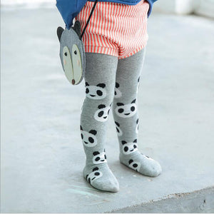 Children's panda leggings (for infants and toddlers)