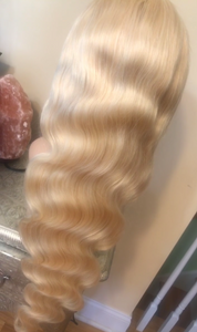 Full Lace Wig Blonde 613