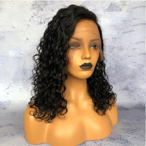 Brazilian Natural Wave Pre-Plucked Full Lace Wig