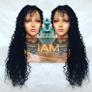 Brazilian Natural Wave Full Lace Pre-Plucked Wig Unit