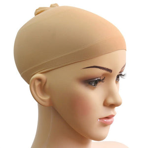 2pcs Unisex Stocking Wig Hairnet Cap Snood