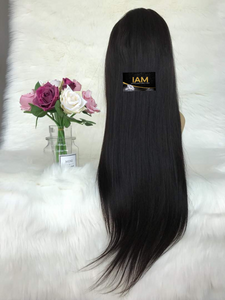 Brazilian Straight Pre-Plucked Full Lace Wig Unit