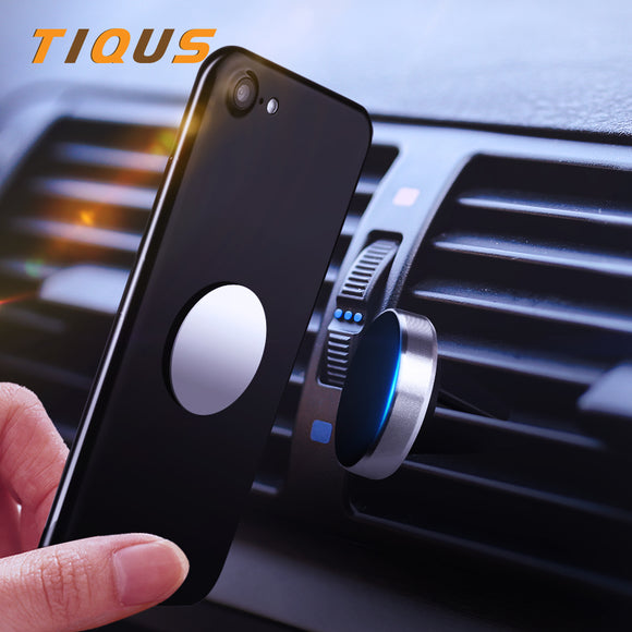Hot Auto Car Holder Mini Air Vent Mount Magnet Magnetic Phone Mobile Holder Universal For iPhone 7 Plus Samsung Car Holder Stand