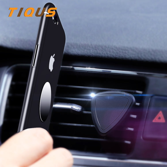 Hot Auto Car Holder Mini Air Vent Mount Magnet Magnetic Phone Mobile Holder Universal For iPhone 7 Plus Xiaomi Car Holder Stand