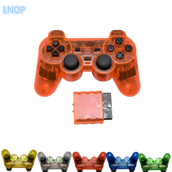 LNOP 2.4G wireless game gamepad joystick for PS2 controller playstation 2 Vibration video gaming play station for Sony PS 2