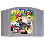 Marioed Kart 64 English Language for 64 bit USA/EU Version Video Game Cartridge Console