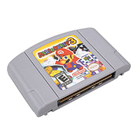 Marioed Party 3 English Language for 64 bit EU/USA Version Video Game Cartridge Console
