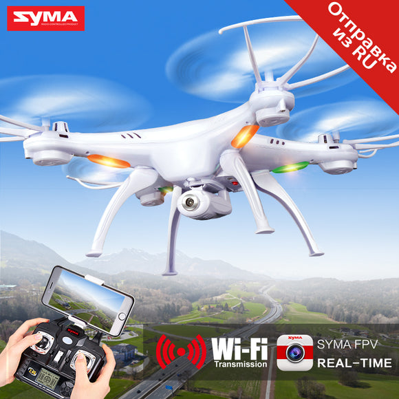 SYMA X5SW RC Drone Wifi Camera Quadcopter Real Time Transmit FPV Headless Mode Dron RC Helicopter Quadrocopter Drones Aircraft