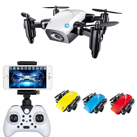 WIFI FPV Mini Drone with Camera 2.4G 4CH 6-axis RC Quadcopter Nano Drone RC WIFI FPV Drone Phone Control Toy