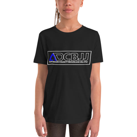 Davidson County Brazilian Jiu-Jitsu Youth Unisex T-Shirt - Blue Belt