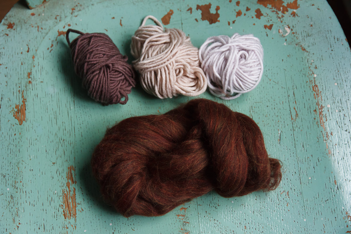Fibre Pack IV - Dark Neutrals - little oak + co.