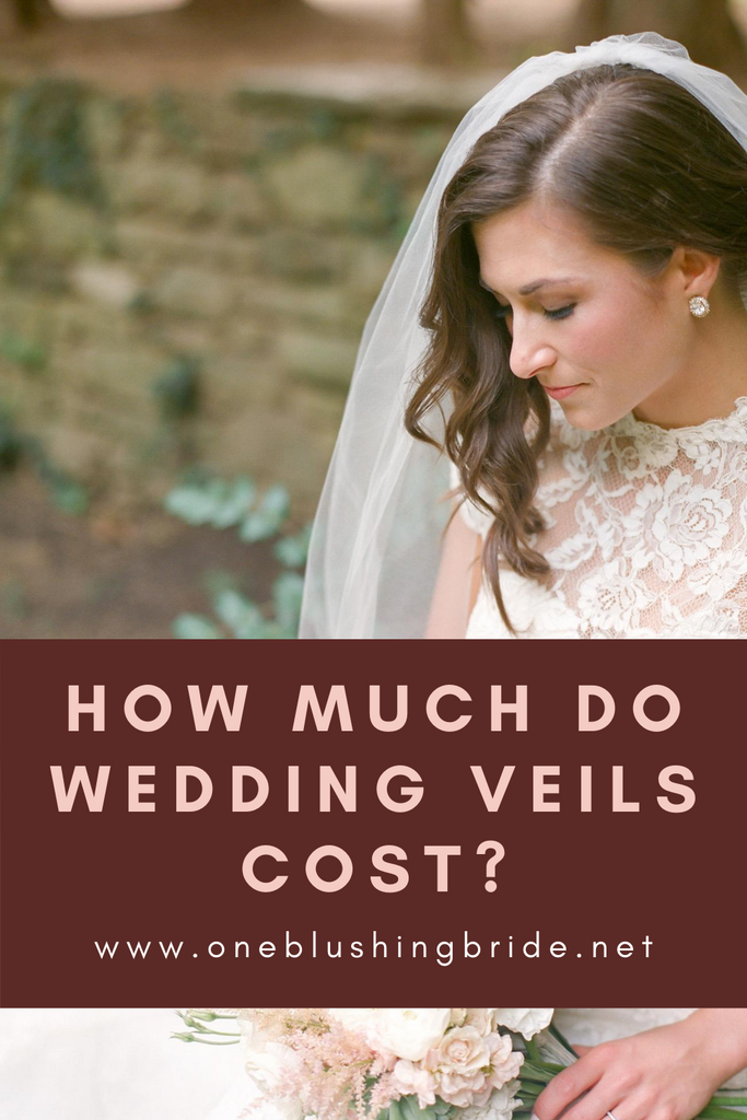 how much should a wedding veil cost