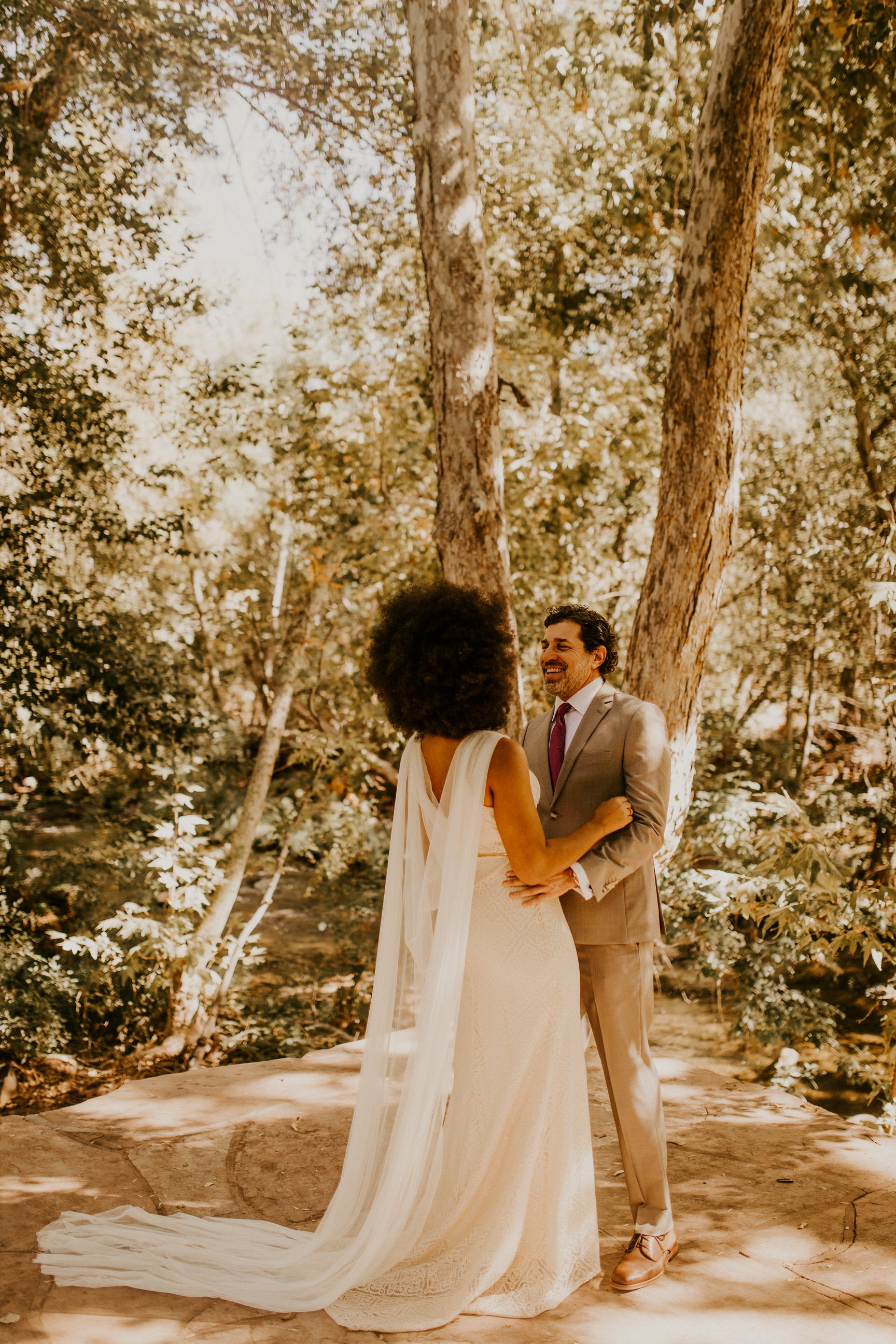eco-friendly wedding cape for destination elopement outside