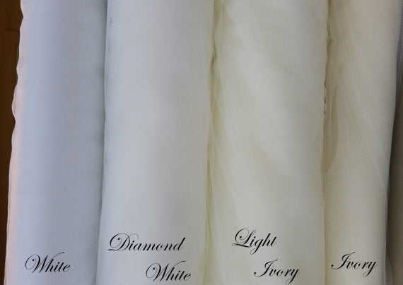 wedding veil color options