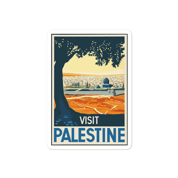 Visit Palestine Bubble-free stickers