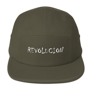 """Revolucion"" Five Panel Cap military style hat"
