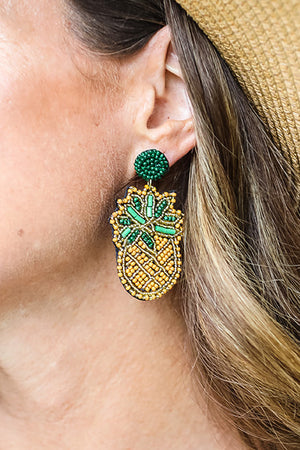 Yona Pineapple Earrings