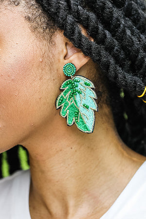 Loma Leaf Earrings