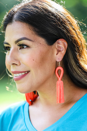 Fresno Tassel Earrings