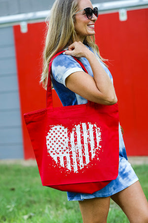 Everything Tote - American Flag