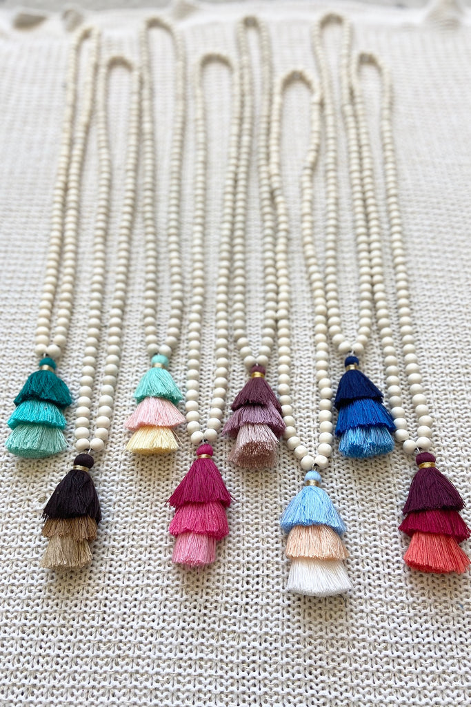 Ely Tassel Necklace